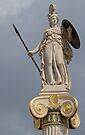 Athena Guarding the Academy of Athens by Gerda Grice