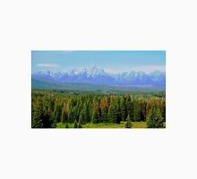 Teton Mountain Range, Wyoming Unisex T-Shirt