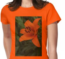 A Solo Daylily Womens Fitted T-Shirt