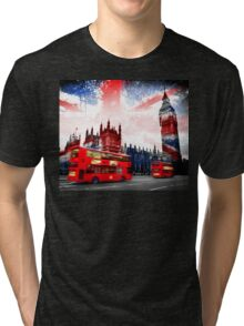 England  London  Tri-blend T-Shirt