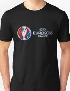 Uefa Euro Cup 2016, European Football competition in France (logo) T-Shirt