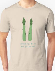Asparagus tips.  T-Shirt