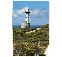 Cave Point Lighthouse Poster