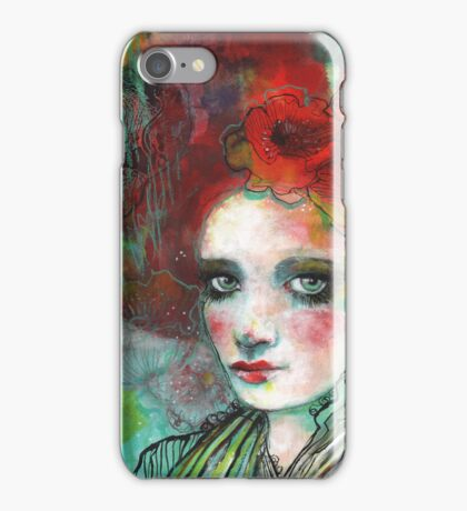 The Spanish Poppy iPhone Case/Skin