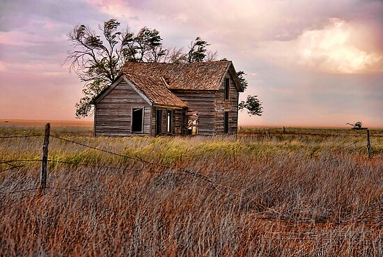 Farmhouse Revisited by Sherry Adkins