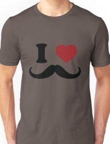 I Love 'Stache T-Shirt