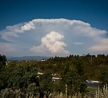 Explosive Updraft by Stephen Titow