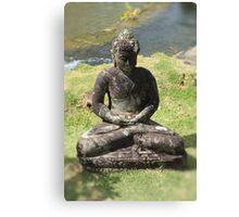 Small Buddha  Canvas Print