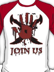 "***AWESOME*** Dark Brotherhood ""JOIN US"" T-Shirt"