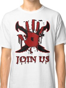 "***AWESOME*** Dark Brotherhood ""JOIN US"" Classic T-Shirt"