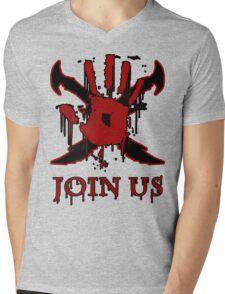 "***AWESOME*** Dark Brotherhood ""JOIN US"" Mens V-Neck T-Shirt"