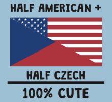 Half Czech 100% Cute Kids Tee