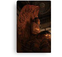 Lotus Buddha Canvas Print
