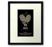 the poet Framed Print
