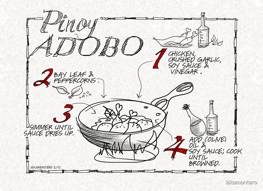 Pinoy Adobo by iskamontero