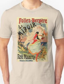 French belle epoque mime theatre advertising Unisex T-Shirt