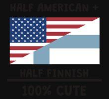Half Finnish 100% Cute One Piece - Short Sleeve