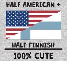 Half Finnish 100% Cute Kids Tee