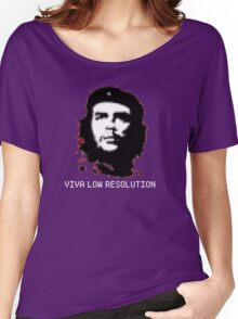 Viva Low Resolution Women's Relaxed Fit T-Shirt