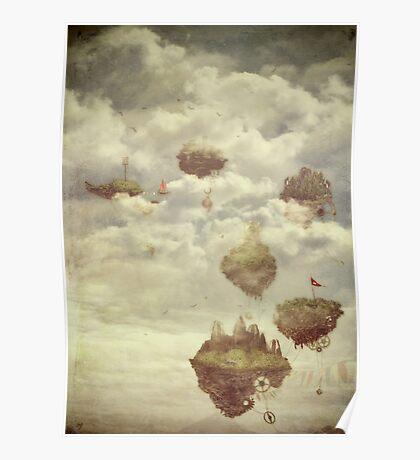 Floating Islands Poster