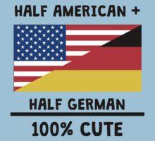 Half German 100% Cute One Piece - Short Sleeve