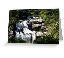 Spectacular Waterfall of Victoria Greeting Card