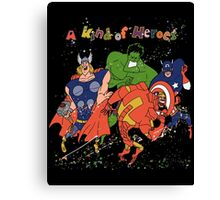 A kind of heroes. Canvas Print