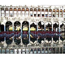 Coffee in St Marks Photographic Print