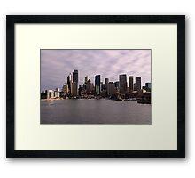 Circular Quay, Sydney Framed Print