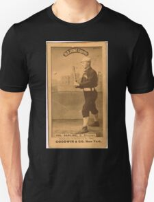 Benjamin K Edwards Collection Dell Darling Chicago White Stockings baseball card portrait 002 Unisex T-Shirt