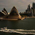Golden Glow Sydney Opera House #2 by Noel Elliot