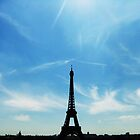 Eiffel tower by jlv-