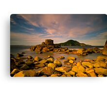 Tomaree Turret Canvas Print