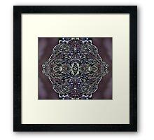 Water ring Framed Print