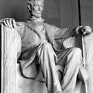 Lincoln contemplates by Barham Ferguson