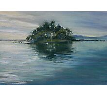 Pelican Island, Wallis Lake, NSW Photographic Print