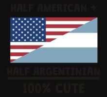 Half Argentinian 100% Cute One Piece - Short Sleeve