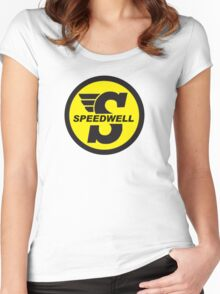 Speedwell mini Women's Fitted Scoop T-Shirt
