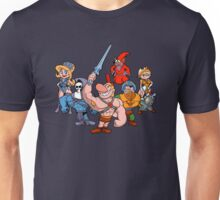 Masters of the Grimverse. Unisex T-Shirt