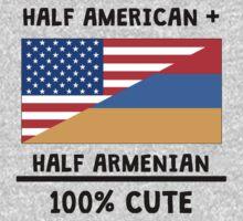 Half Armenian 100% Cute Baby Tee