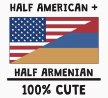 Half Armenian 100% Cute Kids Tee