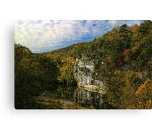 Buffalo River in Arkansas Canvas Print