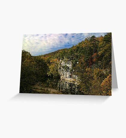 Buffalo River in Arkansas Greeting Card