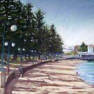 Manly Esplanade by Terri Maddock
