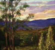 Opal sky by Terri Maddock