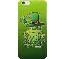 Saint Patrick's Day Frog iPhone Case/Skin