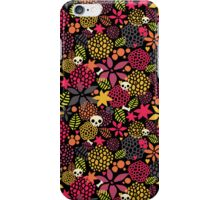 Skulls and flowers. iPhone Case/Skin