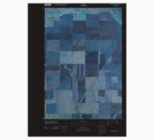 USGS Topo Map Washington State WA Whitstran NE 20110407 TM Inverted One Piece - Long Sleeve