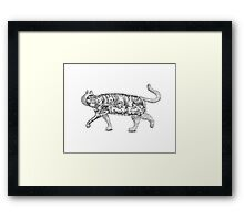 The Trojan Cat Framed Print