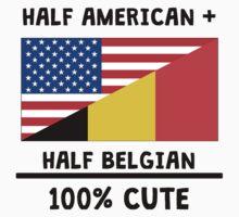 Half Belgian 100% Cute Kids Tee